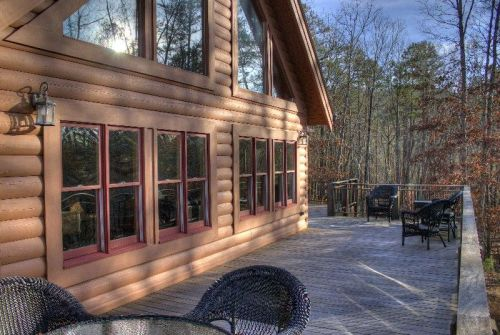 Big Sky LodgeLarge Deck with Sitting Area-Large