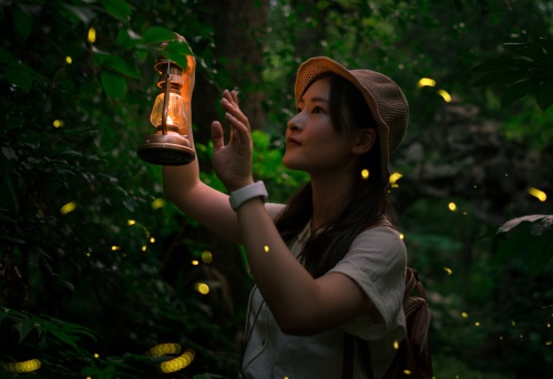 Firefly lady